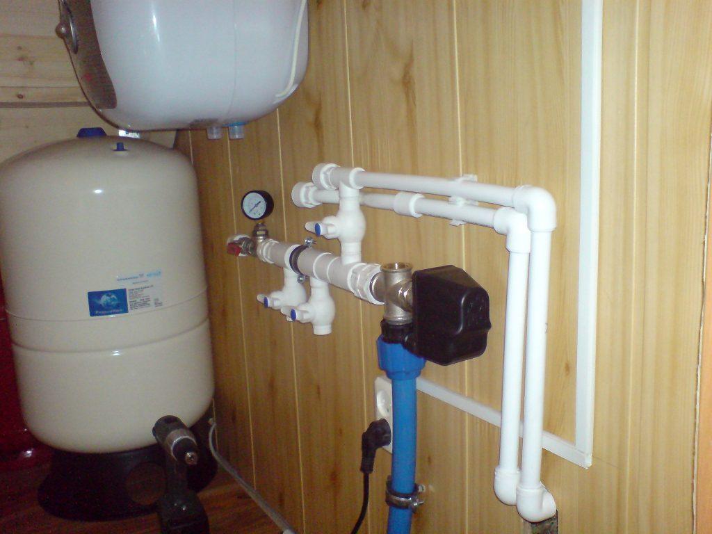 Монтаж водоснабжения в коттеджах и частных домах